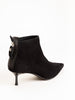 low dress boot - black suede