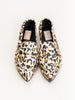 moccasin with keeper off white animal print