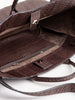medium catchall - dark brown whipsnake