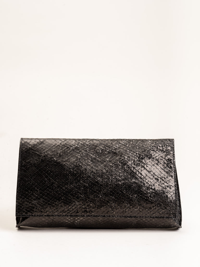 foldover clutch - black diamond
