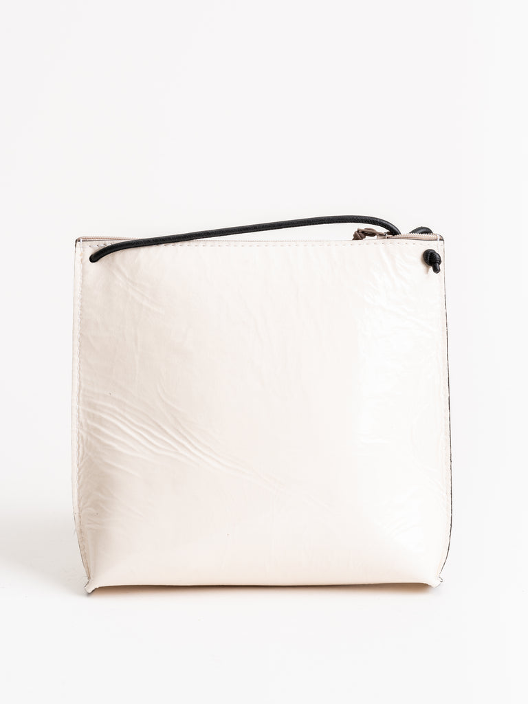 strappy pouch - cream