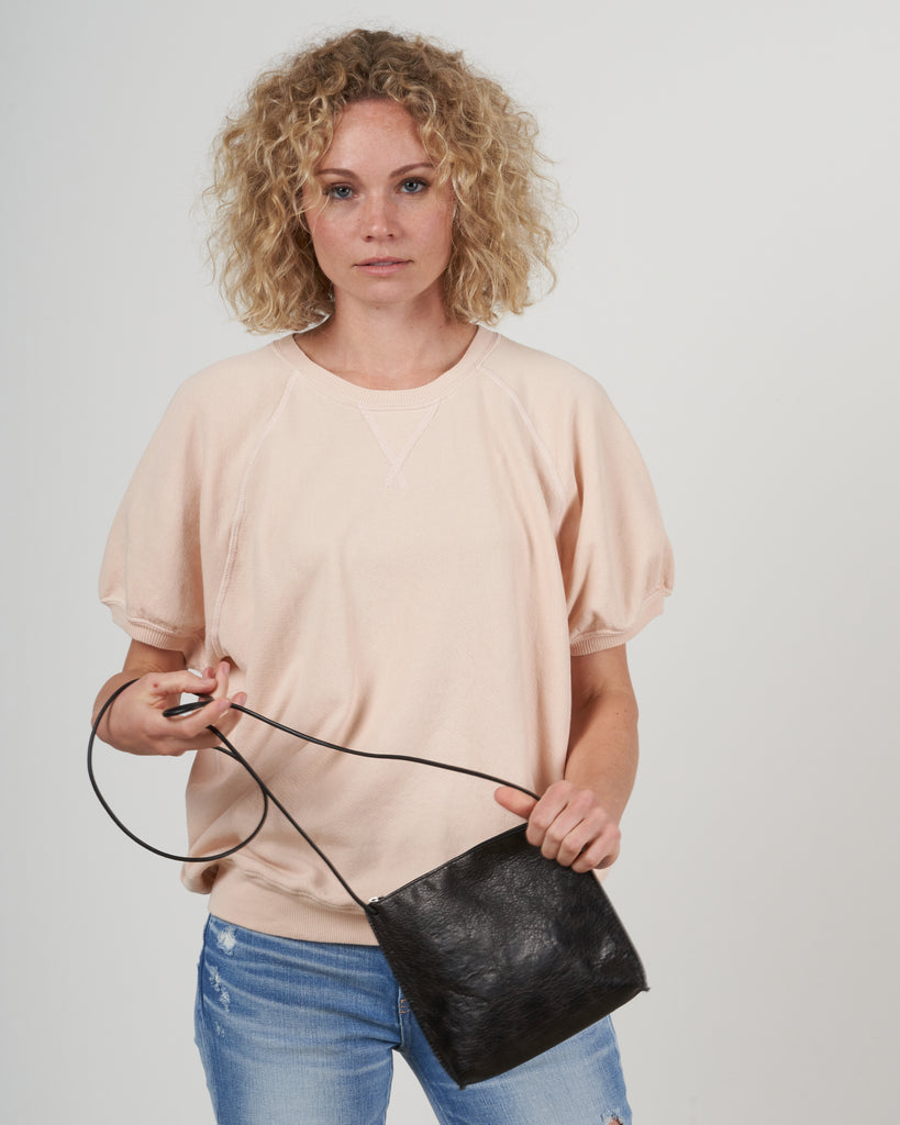 strappy pouch - sable ovino