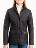 cavalry polarquilt coat - black