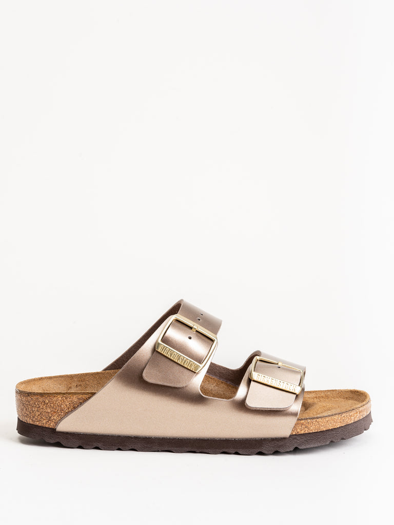 arizona sandal - metallic taupe