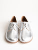 gary metallic leather loafer - silver