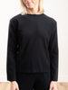 wool crewneck - midnight