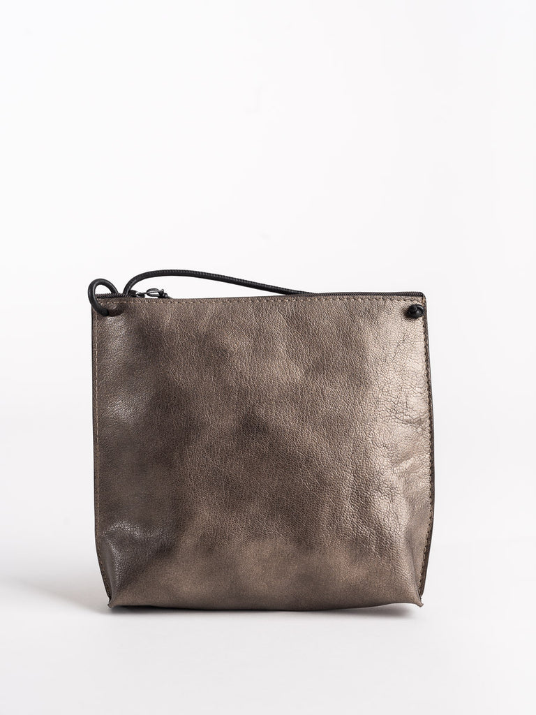 B.May Strappy Pouch in Pewter Orme