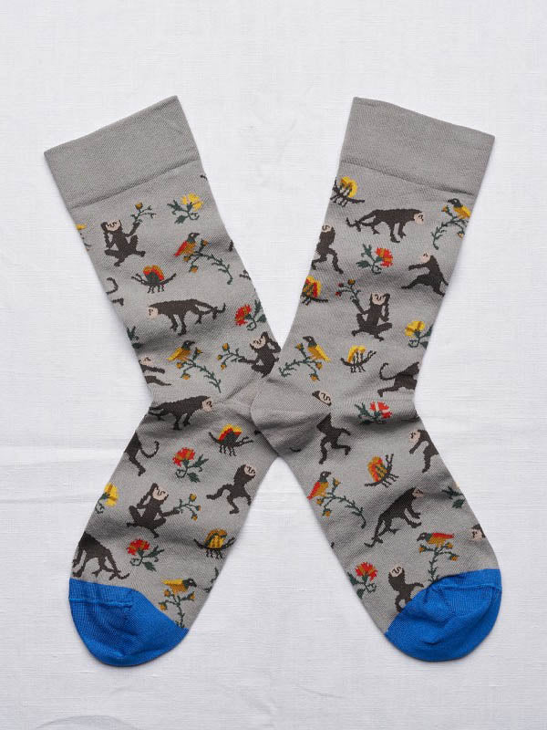 short sock - elephant monkey