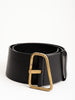 tigris belt - black/brass