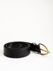 inn belt - black/brass
