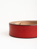 volga belt - red/brass