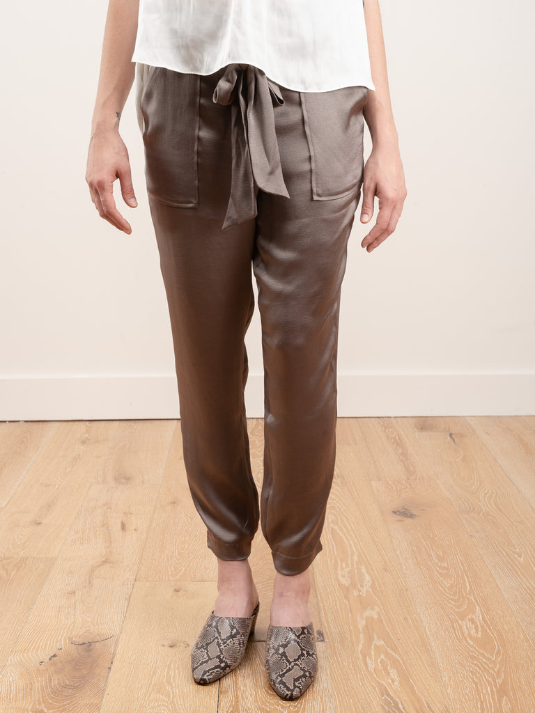 tide pant - pewter grey
