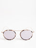 buena vista sunglasses - white tortoise/rose gold