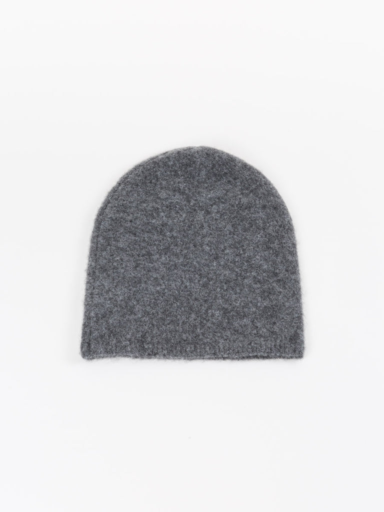 felted hat - charcoal