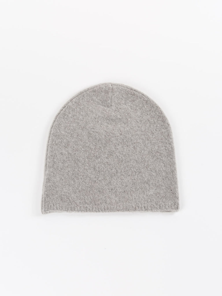 felted hat - timber