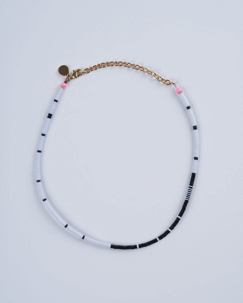 louise choker - black and white