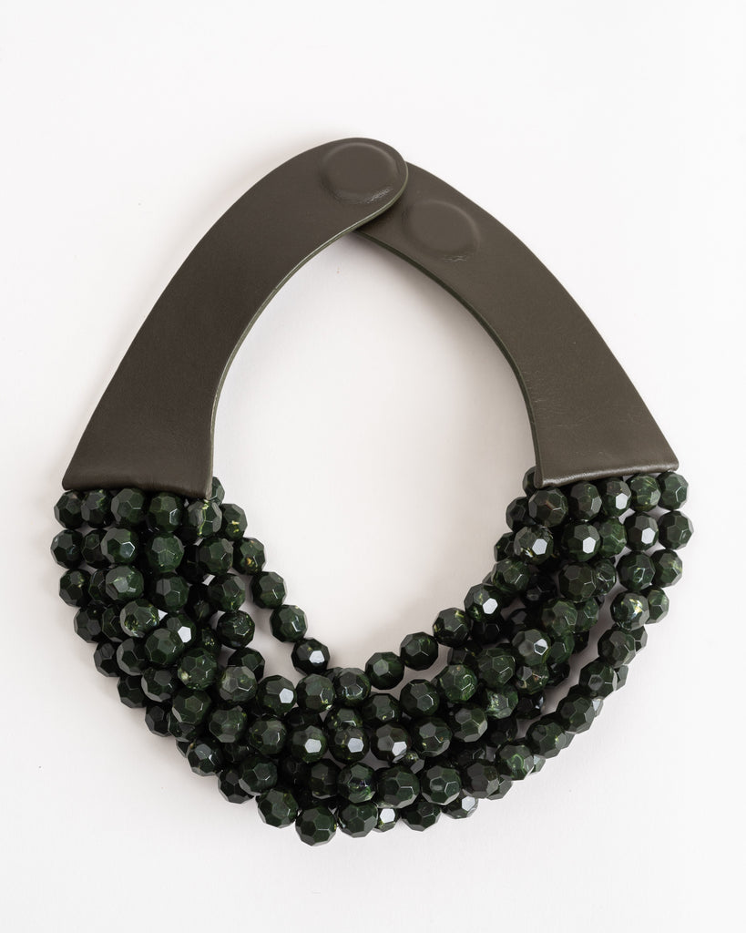 bella necklace - olive