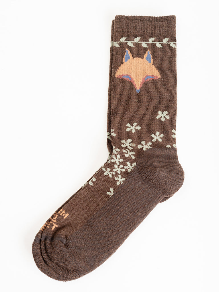 emeryville crew socks - turkish coffee