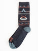 franklin crew socks - charcoal
