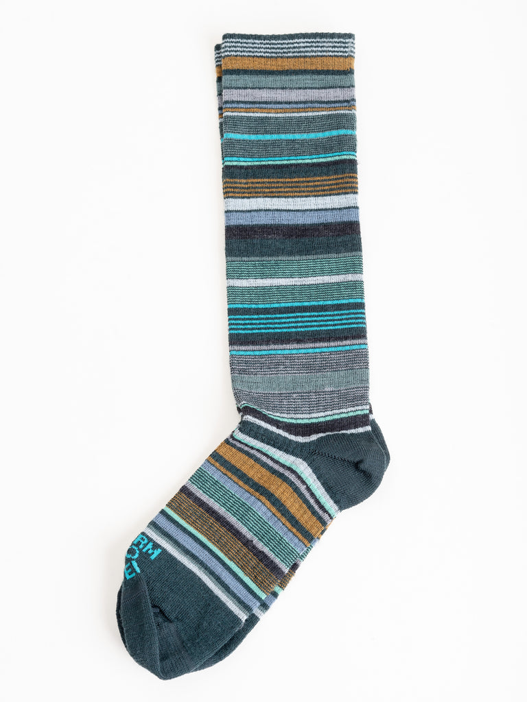 ithaca knee high socks - cypress