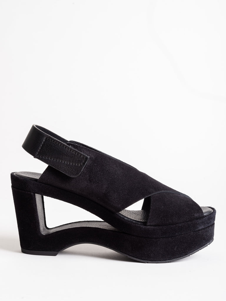 fidelina wedge - black castoro