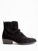 claus boot - black suede