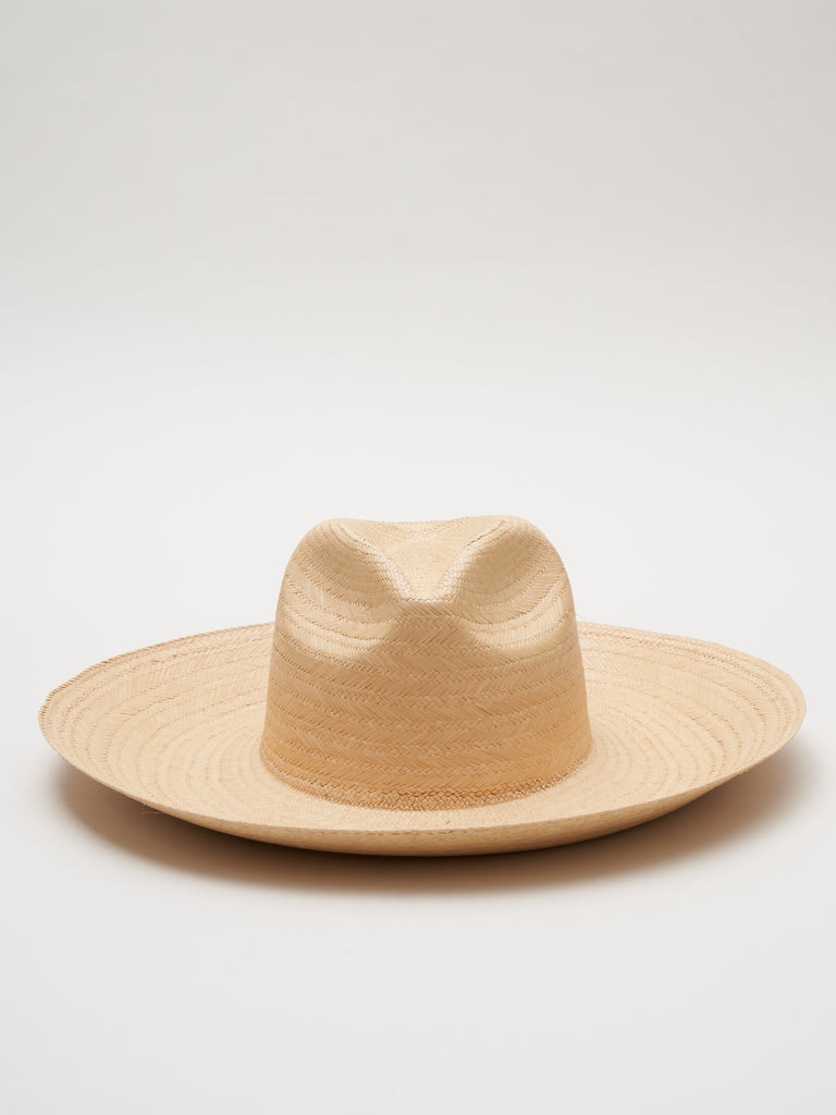 straw hat - wheat