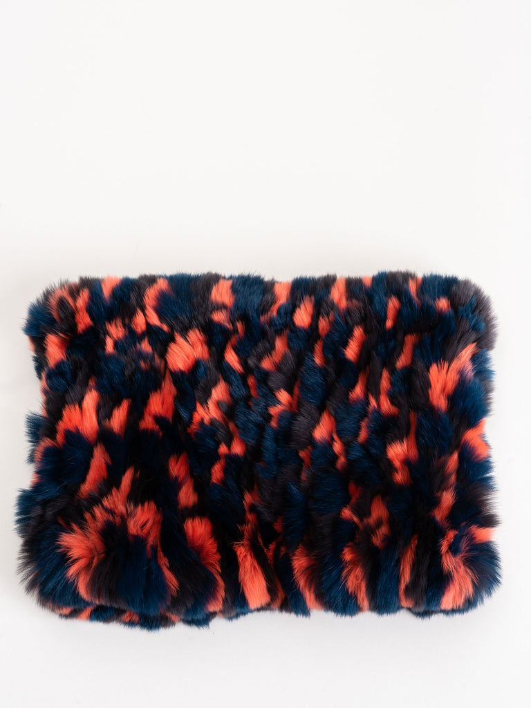 fur funnel - knockout orange camo