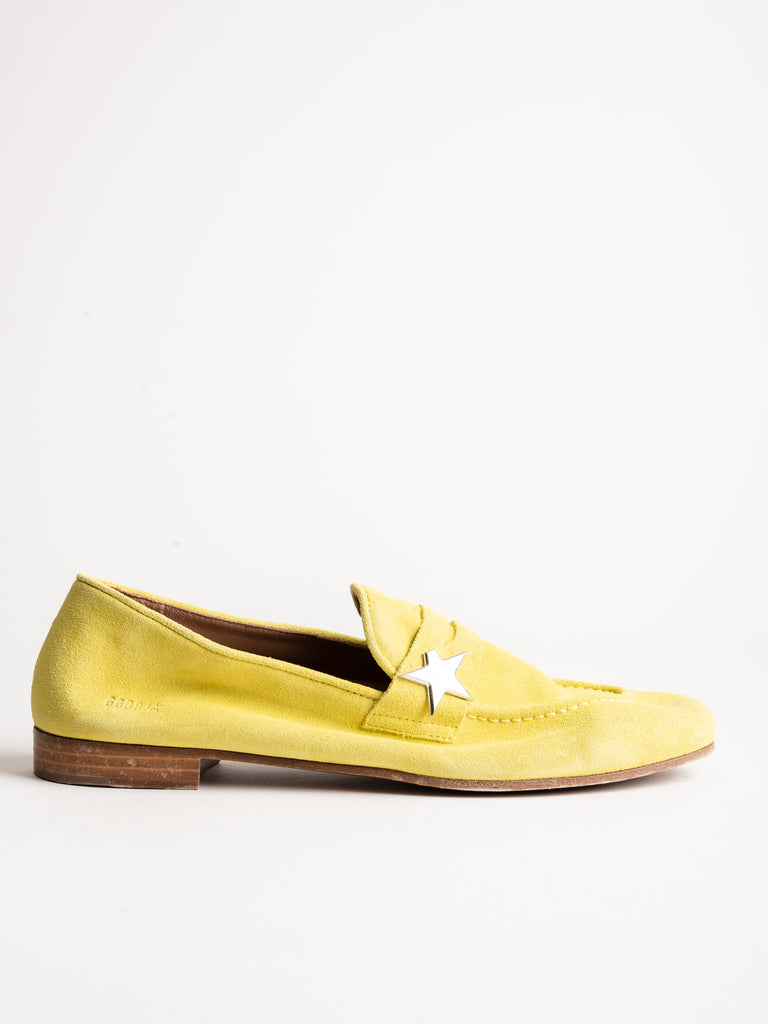 virginia loafer - yellow