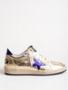 ball star sneaker - gold