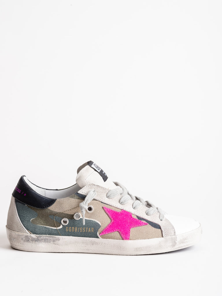 superstar sneaker - camou canvas