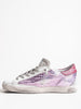 superstar sneaker - lavender laminated