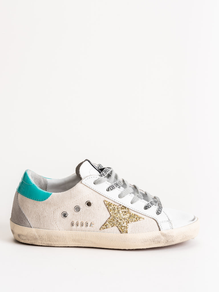 superstar sneakers - natural canvas