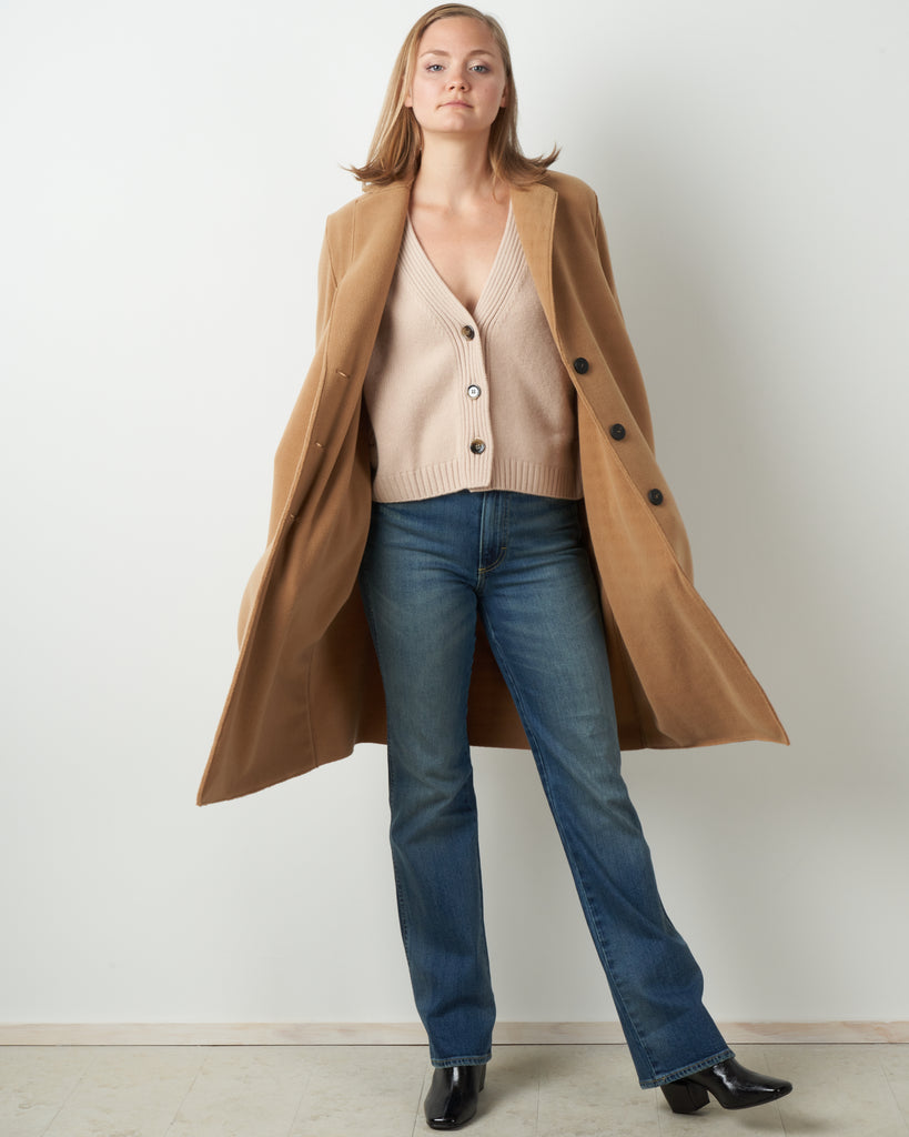 polaire overcoat - tan