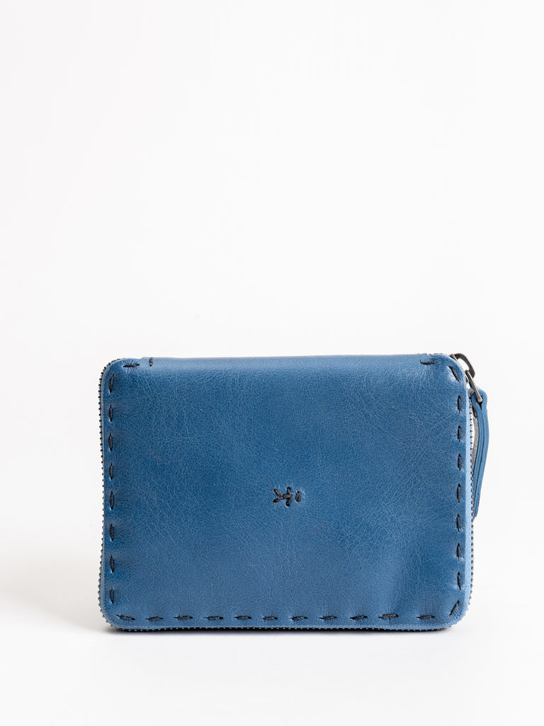 scorpion wallet - blue