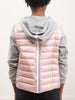 hoodie jacket w/  fleece - candy
