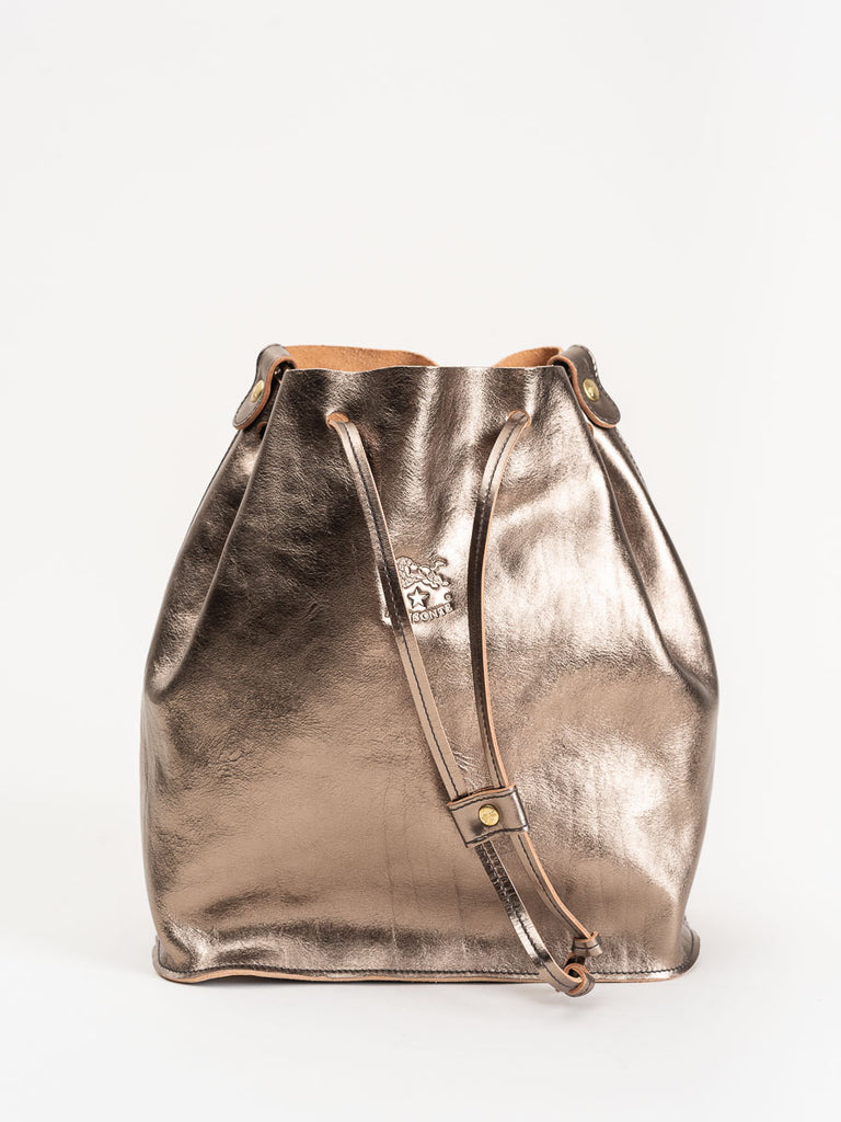 bucket bag - bronze