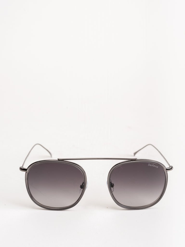 mykonos sunglasses - grey/gunmetal