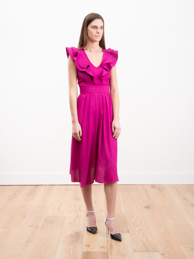 coraline dress - fuchsia