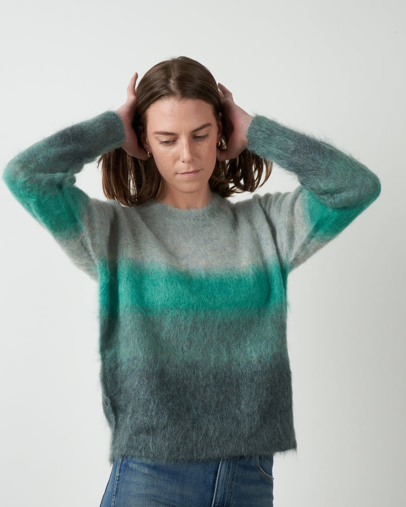 drussell sweater - greyish blue