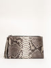 deb clutch wristlet - natural