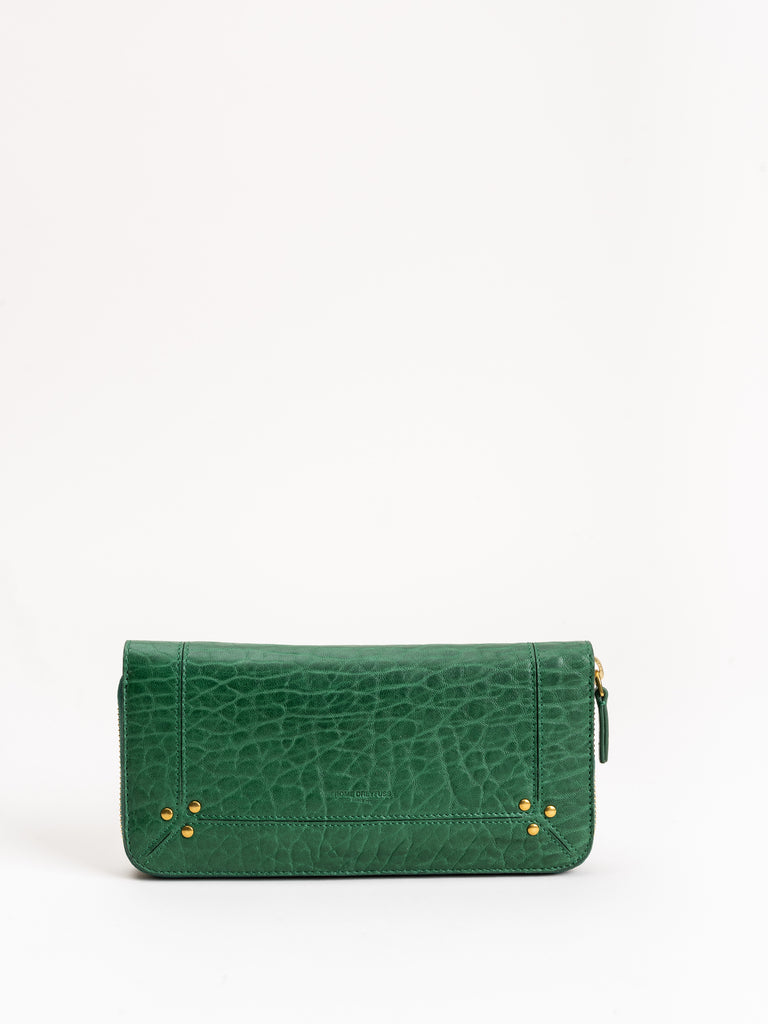 malcolm wallet - green