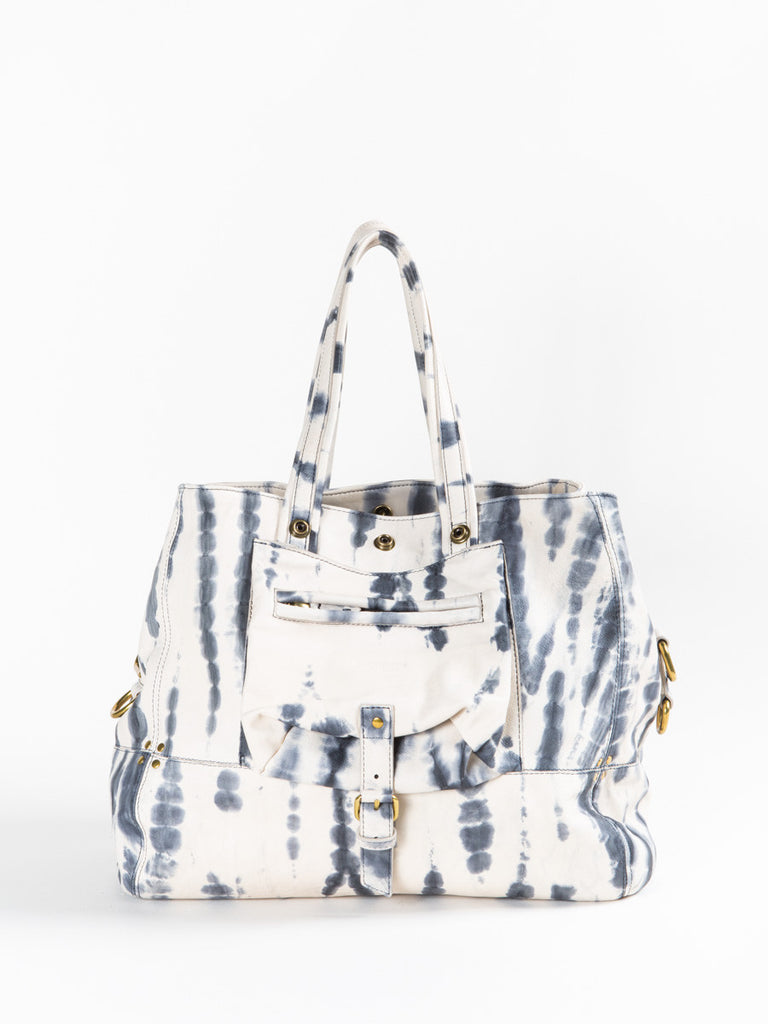 Jerome Dreyfuss Tie Dyed Medium Billy Bag in Blue