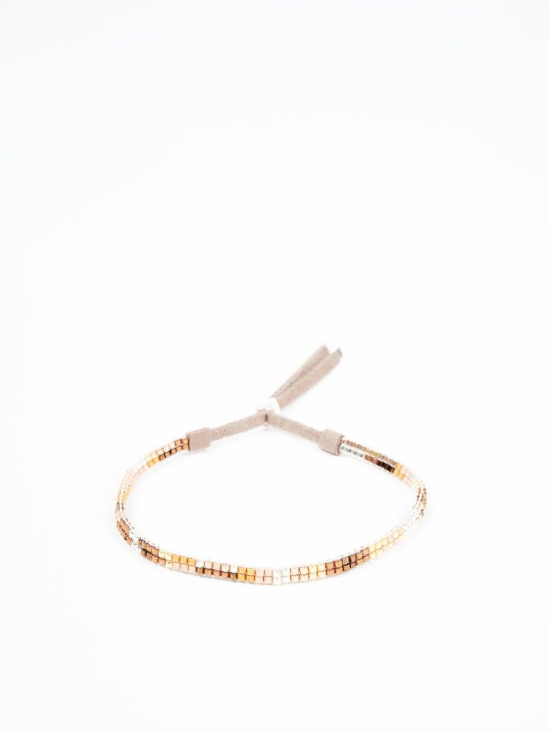 small single strand bracelet - oro