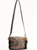 mini windbourne bag - shearling black peony