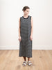 the tank dress - navy/cream