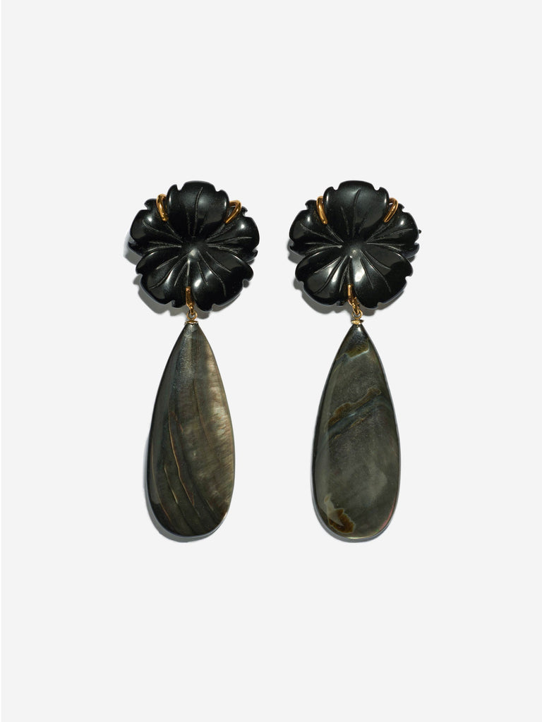 night bloom earrings