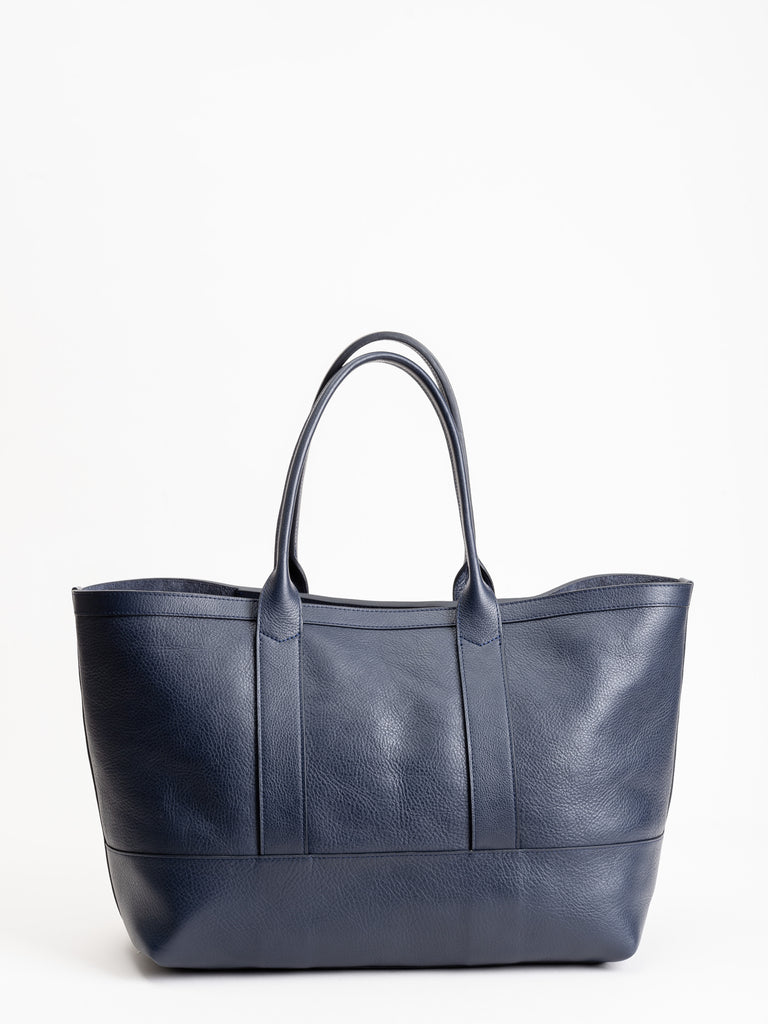 medium tote - indigo