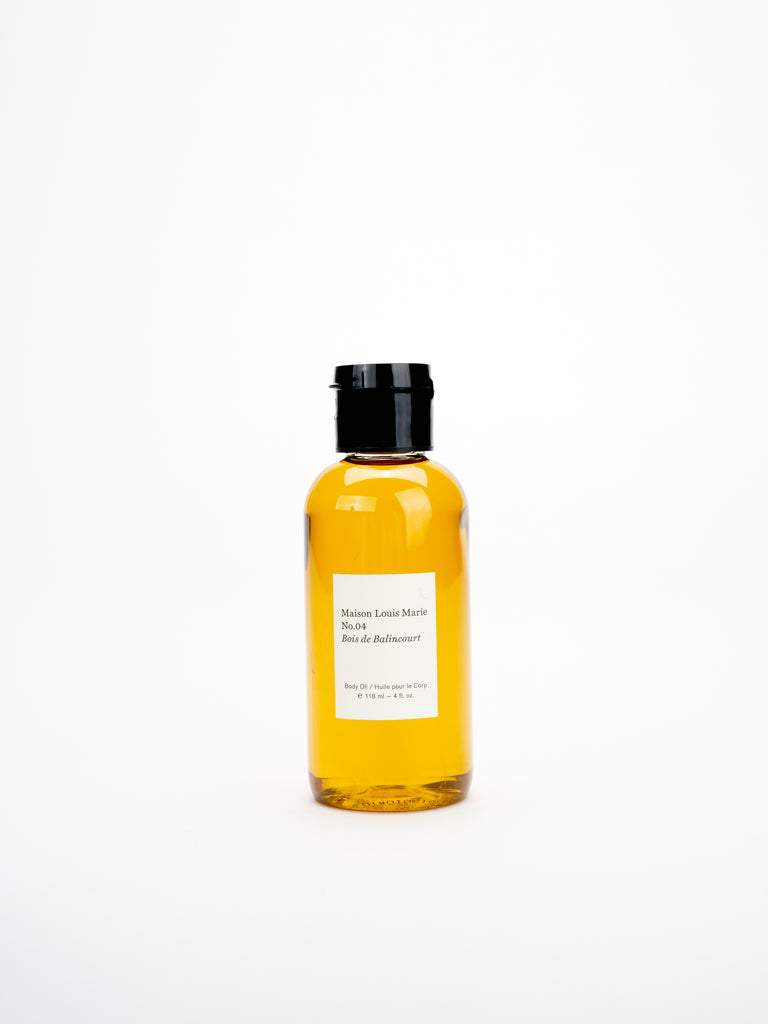 body oil - no.04 bois de balincourt