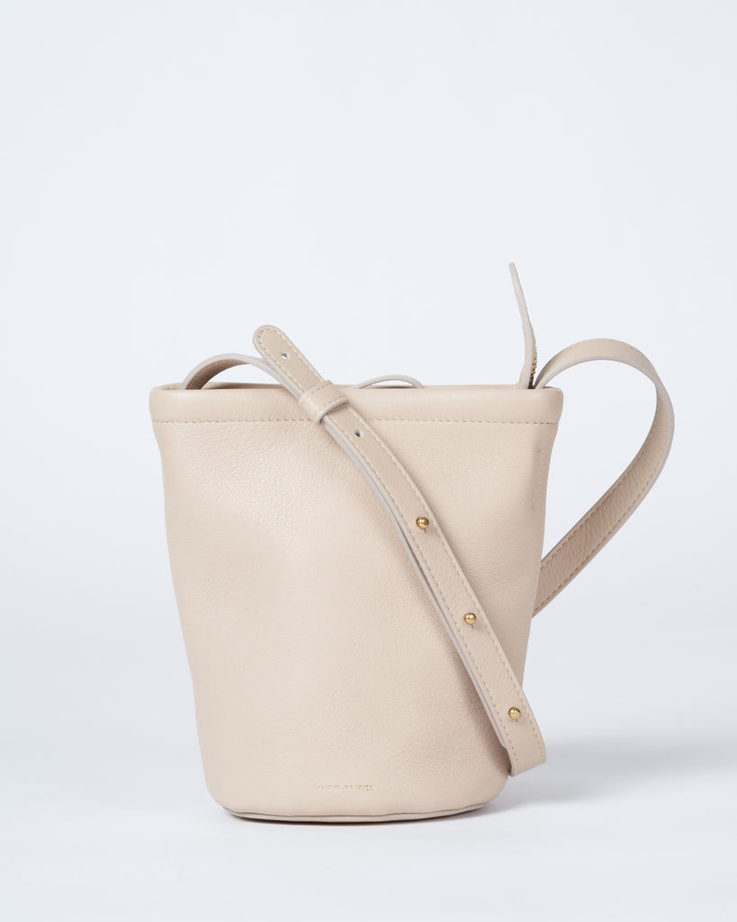 mini zip bucket - aglio